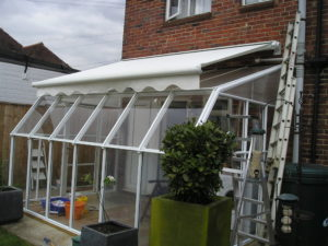 Scrigno 250 fitted over conservatory
